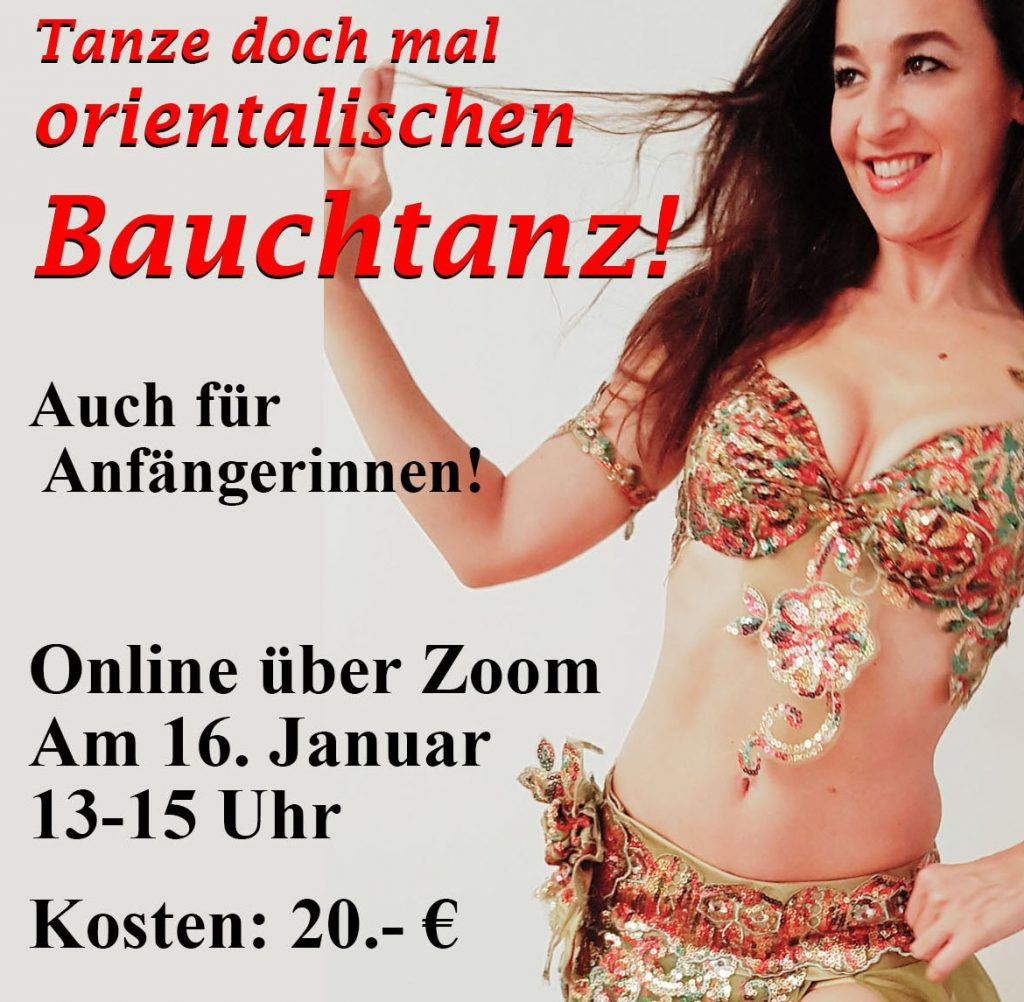 Bauchtanz Workshop Online